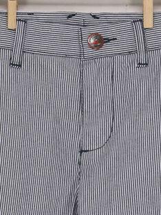 Gestreifte Bermuda Shorts RIDOUAGE / 19E3PGE2BER001
