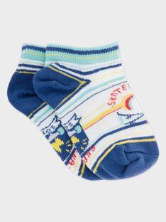 Kurze Socken ecru RECHAUSAGE / 19E4PGC1SOB001