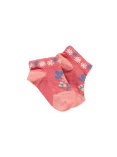 Kurze Socken rosa RAONORINE / 19E4BFH1SOB404