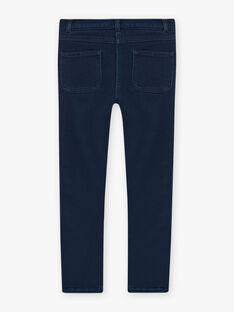 Gestrickte Denim-Jeans für Mädchen BLAJENETTE / 21H2PFO1JEAK005