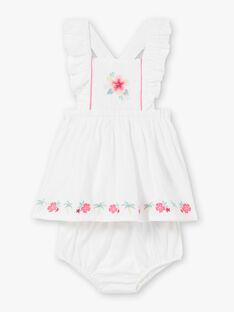 White DRESS ZASOLENE / 21E1BFU1ROB000