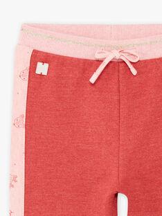 Baby Mädchen rosa Jogginghose BAINA / 21H1BFJ1JGBD332