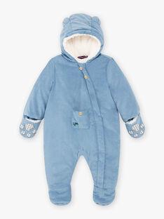 Blauer Kord-Pilot für Baby-Jungen BIRACHEL / 21H1BGE2PIL216