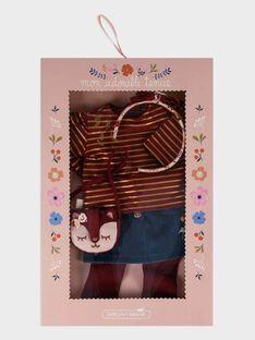 Indisches Puppenkleid, purpur SEALITENU7 / 19HZENS8TENF511