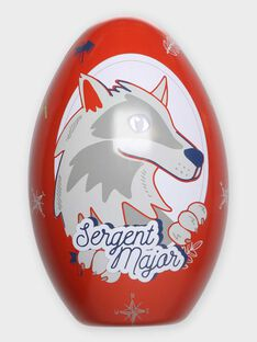 Metall-Ei und Cape aus Jersey mit Wolf-Motiv TULOUAGE / 20E3PGU2CPO000