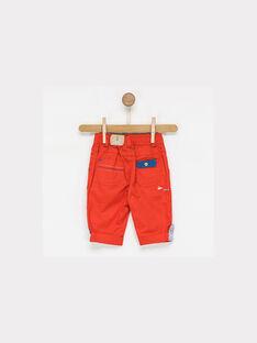 Red Cropped NAITEO / 18E1BGG1PCOF505