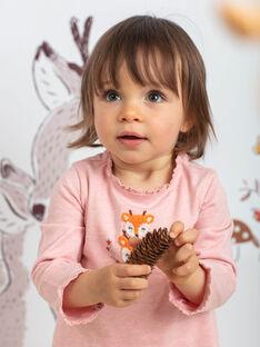 Baby Mädchen Rosa Bodysuit BAISIS / 21H1BFJ2BODD314