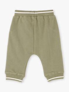 Baby Junge khakifarbener Jogging-Anzug ZAADAMO / 21E1BG71JGB604