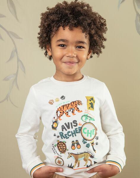 T-shirt Kind Junge ZABIAGE / 21E3PG71TML009