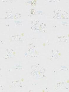 Baby-T-Shirt-Body für Jungen TUVALENTIN / 20E0CGR1BOD000