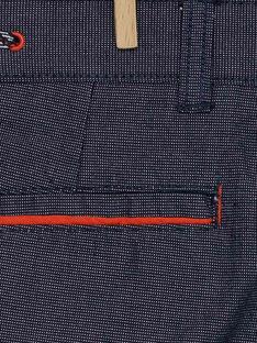Nachtblaue Bermuda-Shorts RERTOAGE / 19E3PGD1BERC205