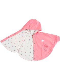 Baby-Regencape für Mädchen, rosa TAFALA / 20E1BFD1CPE415