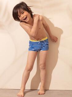 Blaue Badeshorts für Jungen ZYRAYAGE / 21E4PGR3MAIC221