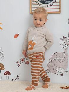 Baby Boy Gestreifte Jogging-Shorts BALEONARD / 21H1BGJ1JGB809