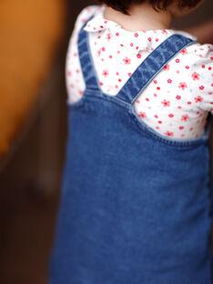 Jeans-Kleid für Mädchen ZAFLORIANE / 21E1BFB1CHSP269