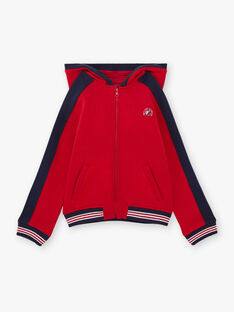 Baby Junge Rot & Marine Hoodie BAGE / 21H3PG11GIL050