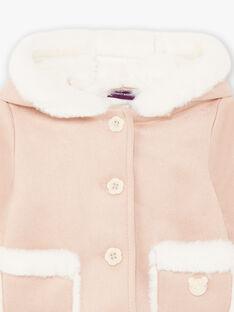 Baby Girl's Beige Kunstpelz Mantel BININON / 21H1BFC1MAN080