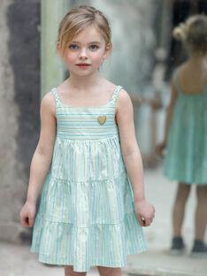Turquoise NO SLEEVES DRESS ZROBETTE 6 / 21E2PFW3RBS202