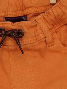 Orangefarbene Hose RABADAGE / 19E3PG41PAN402
