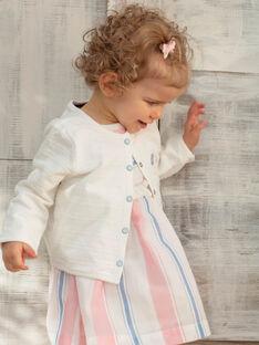 Baby Mädchen ecru Strickjacke ZAPIA / 21E1BFT2CAR001