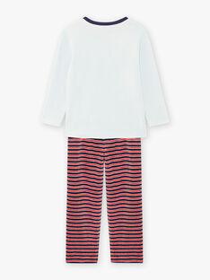 Gestreiftes Pyjama-Set aus Samt für Jungen BIPOLAGE / 21H5PG74PYJ213