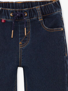 Dunkle Denim-Jeans für Jungen BUWOLAGE1 / 21H3PGB2JEAK005
