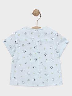 Babyhemd für Jungen mit Karodruck TAPAO / 20E1BGP1CHMC200