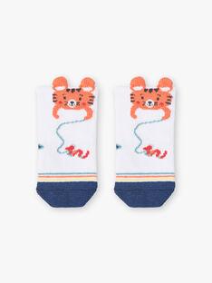 Tiger ecru Socken ZAIZIK / 21E4BGI2SOQ001