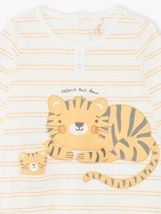 Frosch und sein Tiger Plüsch Baby Junge ZEDJIMI / 21E5BG24GRE001