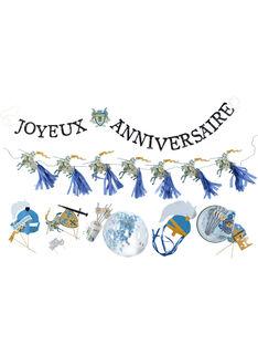 Blaue Geburtstagsbox ROANIBOY / 19EZENX2CAN213