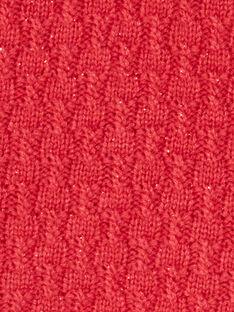 Red cherry PONCHO VAKLOE / 20H1BFR1PON510