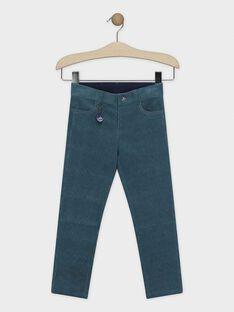 Blaue Samthose mit Schlüsselanhänger für Jungen SIMURAGE / 19H3PGN2PAN210