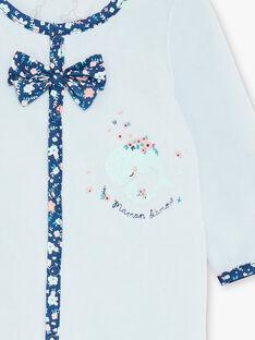 Schlafanzug aus blauem Samt ZECALYPSO / 21E5BF15GRE203