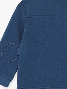 Marineblaue Weste mit Reißverschluss ZAKRISTOF / 21E1BGJ1GILP270