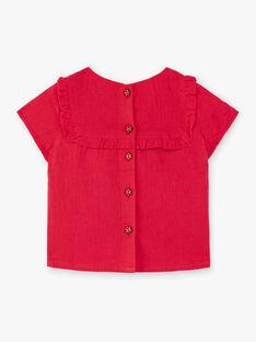 Rote und gelbe Bluse TASOPHIE / 20E1BFQ1CHEF510