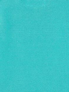 Türkisblauer Pullover ZAKEVIN / 21E1BGJ1PULG621