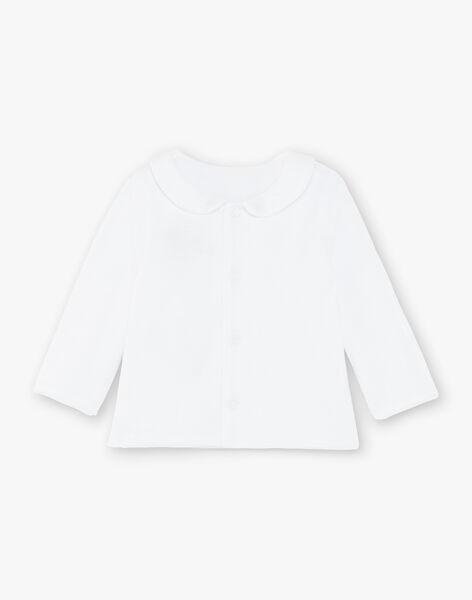Baby-Weste aus weißem Samt und Hosen-Set gemischt ZOEDEN / 21E0NMG1ENS000