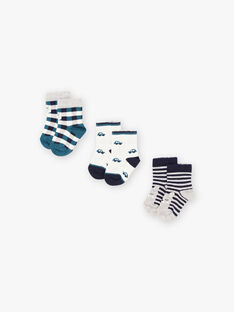 Baby-Jungen-Socken sortiert BROBOB / 21H4BGB4LC3070