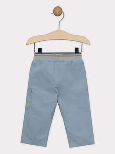 Hose Baby Junge blau-grau SAKURTY / 19H1BG61PAN205