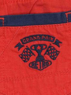 Rote Bermudas RODRAGE / 19E3PGH1BERF506