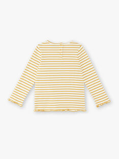 T-Shirt langärmelig Kind Mädchen ZERUCHETTE / 21E2PF91TML001