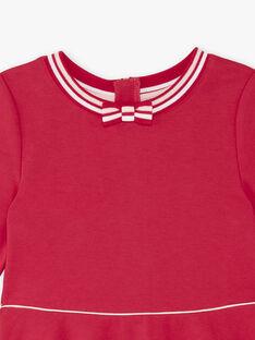 Fuchsia Kleid Kind Mädchen ZLOMETTE2 / 21E2PFK4ROB304