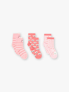 Pink PACK OF LOW SOCKS ZOURUETTE / 21E4PFK1LCBD318
