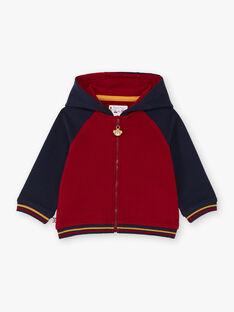 Baby Boy's Red & Navy Hoodie BAFRED / 21H1BG51JGH070