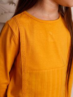T-shirt langärmelig Kind Mädchen ZETETTE 1 / 21E2PF92TMLB114