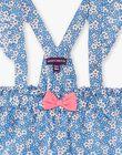 Baby Mädchen lavendel blau Latzhose Kleid ZAPHILOE / 21E1BFT1JUPC208