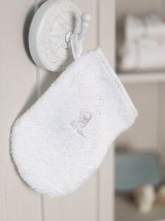 Schwammspitze und ecrufarbener Handschuh für Mädchen mit Welpenmotiv BOELI / 21H0AM41POI001