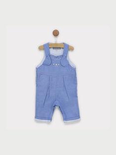 Denim-blaue Latzhose RYALBERT / 19E0CG12SAL704
