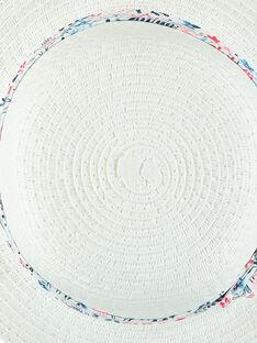 Weißer Hut RAMAMA / 19E4BFE1CHA001