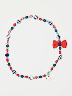 Halskette aus Walperlen mit kleiner Schleife für kleine Mädchen TUICOLETTE / 20E4PFL1CLI001